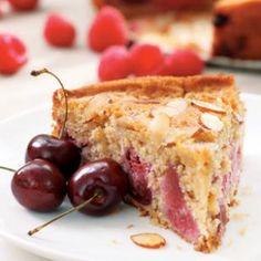 Rich Fruit Cake Recipe - Cherry-Raspberry Buckle
