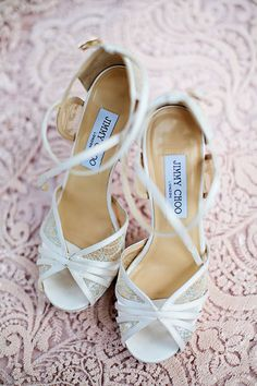 Beaded Jimmy Choo Shoes | Brides.com