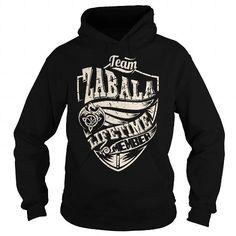 I Love Team ZABALA Lifetime Member (Dragon) - Last Name, Surname T-Shirt T shirts