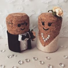 Personalised & unique wedding cake toppers