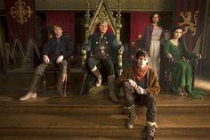 Merlin, Arthur, Uther, Gwen, Morgana