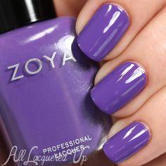 Zoya Serenity nail polish swatch - Summer 2015 Island Fun collection via @alllacqueredup
