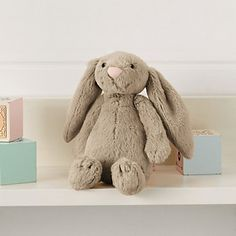 Jellycat Bashful Bunny - Small Natural | The White Company