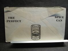 SPICES, COFFEE, TEA, VANILLA, COCOA Postal History Cover 1922 Hartford, CT