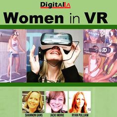 An awesome Virtual Reality pic! Join @digitalla @ctrlcollective Monday October 19th for #women in #VR #tech #virtualreality #virtual #technerd #gaming #live #entrepreneur #siliconbeach #playavista by ctrlcollective check us out: http://bit.ly/1KyLetq
