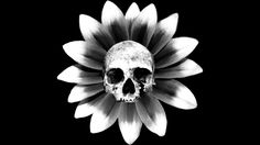 Skull Flower is a T Shirt designed by JOHANNESART to illustrate your life and is available at Design By Humans