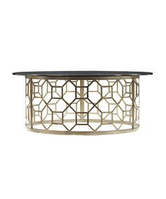 Stanley FurnitureAccents » Tables » Avalon HeightsRound Glass Cocktail Table $1149