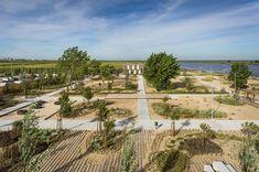 topiaris landscape architecture creates tagus linear park in póvoa de santa iria portugal