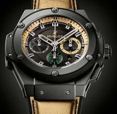 KING POWER USAIN BOLT WATCH, Hublot Timepieces and Luxury Watches on Presentwatch