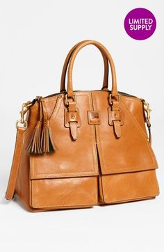 Great Dooney.  Can carry forever. Dooney & Bourke 'Clayton' Satchel, Large available at #Nordstrom