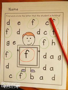 Alphabet hunts both lowercase and uppercase. These are great for letter identification and kids love them! Do this in small group, dry erase* Alphabet Phonics, Alphabet Crafts, Teaching Letters, Preschool Letters, Kindergarten Literacy, Preschool Classroom, Alphabet Activities, Literacy Activities, Letter Identification