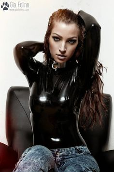 Latex and jeans