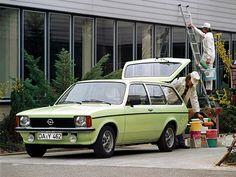 We had one of these growing up. Opel Kadett Caravan (1977 – 1979).
