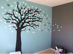 Væg-pynt - træ