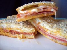 Stromboli Squares. These are so good!!
