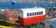 Descubrimos Valparaíso desde sus particulares ascensores externos. Una interesante y original manera de conocer la ciudad y sus alrededores.