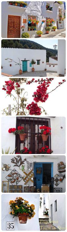 Frigiliana Town in Spain