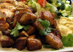 Pommes de terre à la libanaise