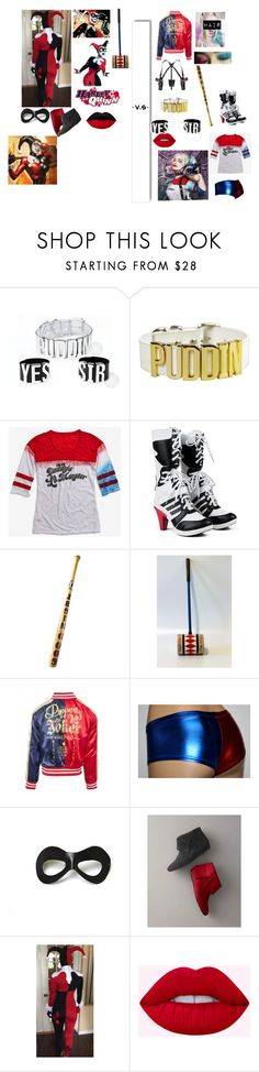"""""""Classic Harley vs New-Age Harley"""" by directioner-af-daily ❤ liked on Polyvore featuring White Label and Villain"""