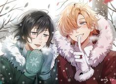 Aww Azusa my lil cinnamon bun and Kou my lil crazy idol. Old Anime, Manga Anime, Anime Art, Mystic Messenger, Azusa Diabolik Lovers, Azusa Mukami, Mukami Brothers, Diabolik Lovers Wallpaper, Lovers Tumblr