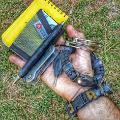 The EDC Prepper  Paracord Bracelet Survival Kit Equipped With LED Light ca4a1262a2