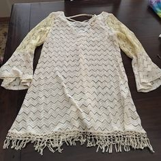 Lace dress Purchased at a boutique in Florida! Not free people Free People Dresses Mini