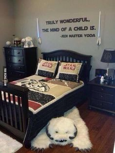 star wars room. If I ever have a kid, this shall be his/her room.
