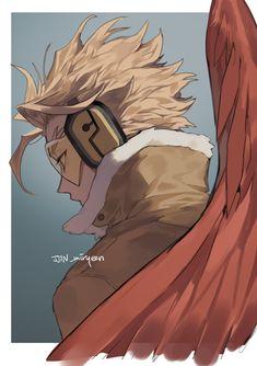 Buko No Hero Academia, My Hero Academia Manga, 1366x768 Wallpaper Hd, Hero Academia Characters, Fictional Characters, Big Bird, Bird Man, Fan Art, Anime Boyfriend