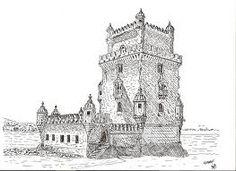 Resultado de imagem para castelo de guimarães desenho