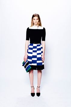 Pattern Play: Proenza Schouler pre-fall 2013