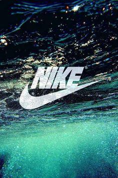 Image via We Heart It #Logo #nike #wallpaper #water #nikee