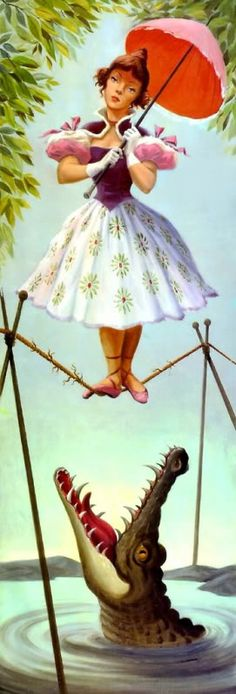 haunted mansion tightrope girl | Re: Long-Forgotten Haunted Mansion Effect vs The Army of Darkness, or ...