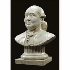 ALBERIC GRAUPENSBERGER (ACTIVE LATE 18TH CENTURY)  GERMAN, FRANCONIA, DATED 1779  A TERRACOTTA BUST OF A MAN