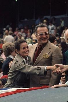 George C. Scott with wife Trish Van Devere
