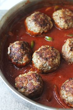 I'll make this. Only because my husband has an intense love for meatballs. The Best Spaghetti and Meatballs There Ever Was
