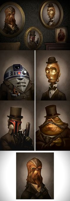 Star Wars Victorian