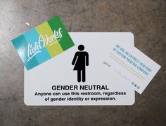 Gender equality bathroom sign #lichtworksprinting #metalsign #sign #graphicdesign #design #atlantamade