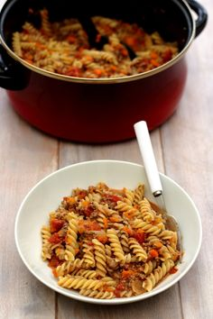 One pot pasta façon bolognaise - 8SP Weight Watchers