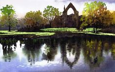 Bolton Abbey, Landscapes, Paul Marlor, SAA Professional Members' Galleries