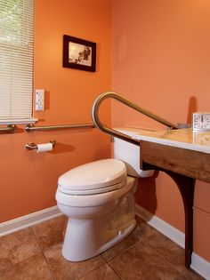 Wheelchair Accessible Bathroom by Bauscher ConstructionUniversal Design Style