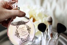 These DIY apothecary bottles are absolutely stunning and make remarkable bridesmaid gifts when filled with homemade perfume, body oil, or bubble bath. Apothecary Bottles, Altered Bottles, Bottles And Jars, Perfume Bottles, Vases, Pots, Diy Inspiration, Diy Wedding, Wedding Ideas