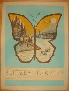 2011 Blitzen Trapper - St. Louis Concert Poster by John Vogl