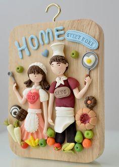 Yusie's Art & Craft: My Clay Craft 2011
