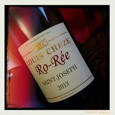 Ro-Rée Blanc 2013 - Louis Cheze - Saint-Joseph, Côtes du Rhône Blanc. Magnifique robe dorée, nez beurré, bouche riche et opulente. Superbe. 16/20 Dégusté le 17 octobre 2015.