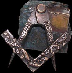 Freemasonry:  #Masonic Square and Compass, by Jens Rusch.