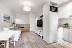 mini pisos estilo escandinavo decoración pisos pequeños decoración estudio cocina nórdica cocina abierta pequeña blog decoración nórdica
