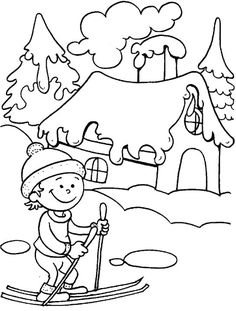 Winter Fun Coloring Pages - Winter Fun Coloring Pages , Winter is the Time to Take A Ski Ride Coloring Page Minion Coloring Pages, Coloring Pages Winter, Preschool Coloring Pages, Coloring Sheets For Kids, Coloring Pages For Girls, Cool Coloring Pages, Christmas Coloring Pages, Free Printable Coloring Pages, Coloring Books