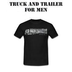 Truck and Trailer for men