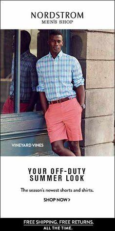 NORDSTROM - Shop Men's Shorts & Men's Shirts