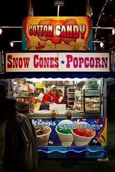 Cotton Candy, Snow Cones & Popcorn